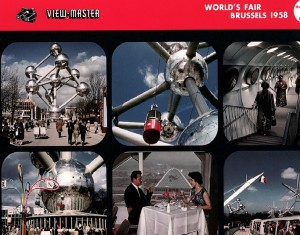 View-master over Expo '58 © View-Master